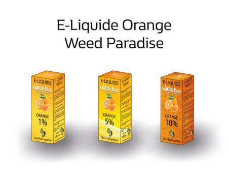 Orange E-Liquide | 5% Cbd Full spectre (500mg) 0% Thc