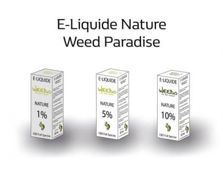 Nature E-Liquide | 5% Cbd Full spectre (500mg) 0% Thc