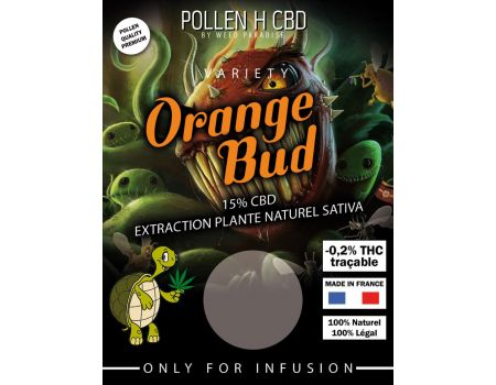 Orange Bud Pollen 1gr | 15% CBD THC - de 0.2%