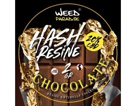 Bubble Weed Chocolate Résine | 2 grs 20% CBD THC -0.2%