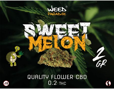 Sweet melon| INDOOR 3 à 10% CBD THC - de 0.2%
