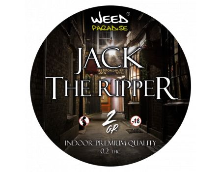 Jack the ripper Indoor | 3 à 10% CBD THC - de 0.2%