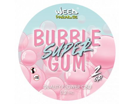 Super Bubble | Gum INDOOR 3 à 10% CBD THC - de 0.2%
